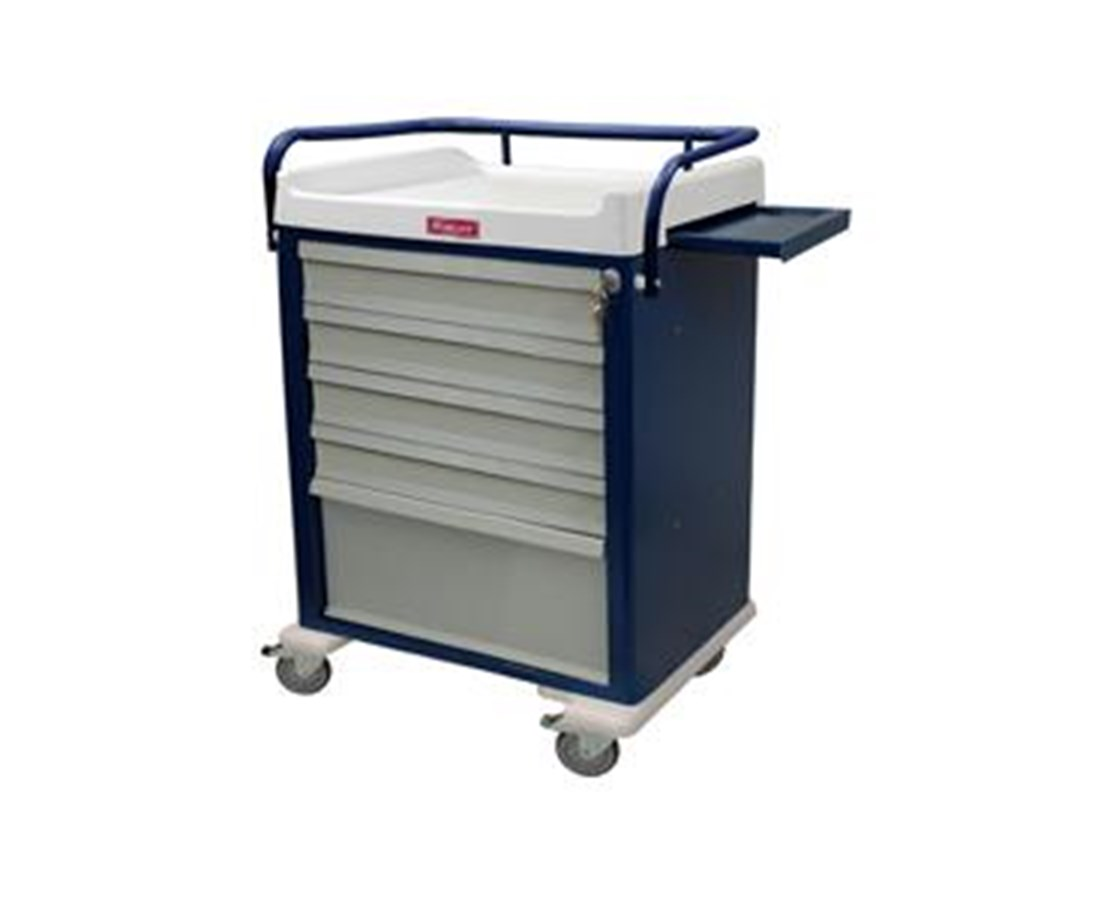 OptimAL Line Multi-Dose Bin Medication Cart HARAL48MDBIN-