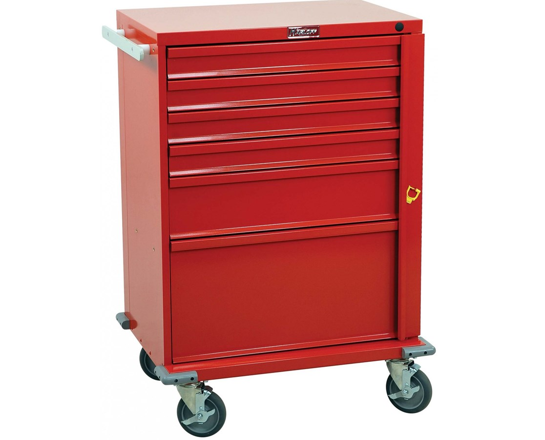 V-Series Six Drawer Crash Cart HARV30-6B-