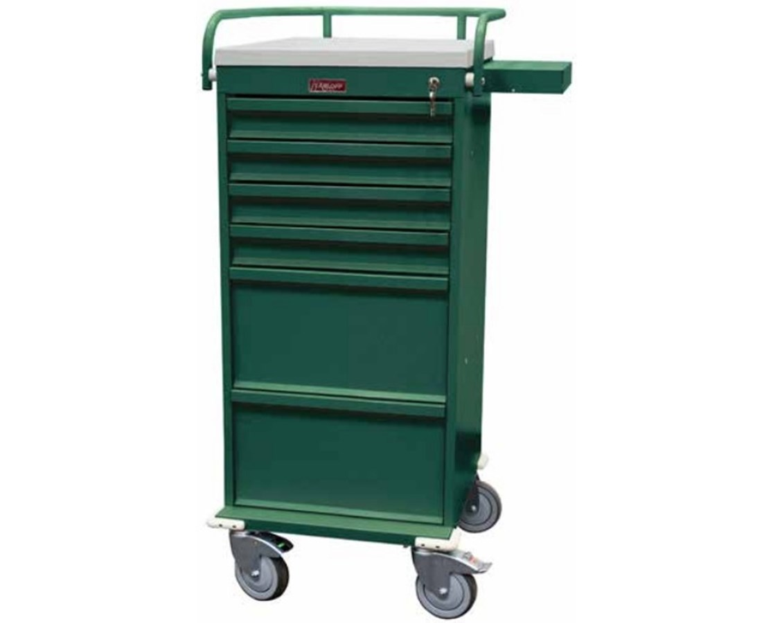 Value Line Narrow Six Drawer Medication Cart HARVLT6K
