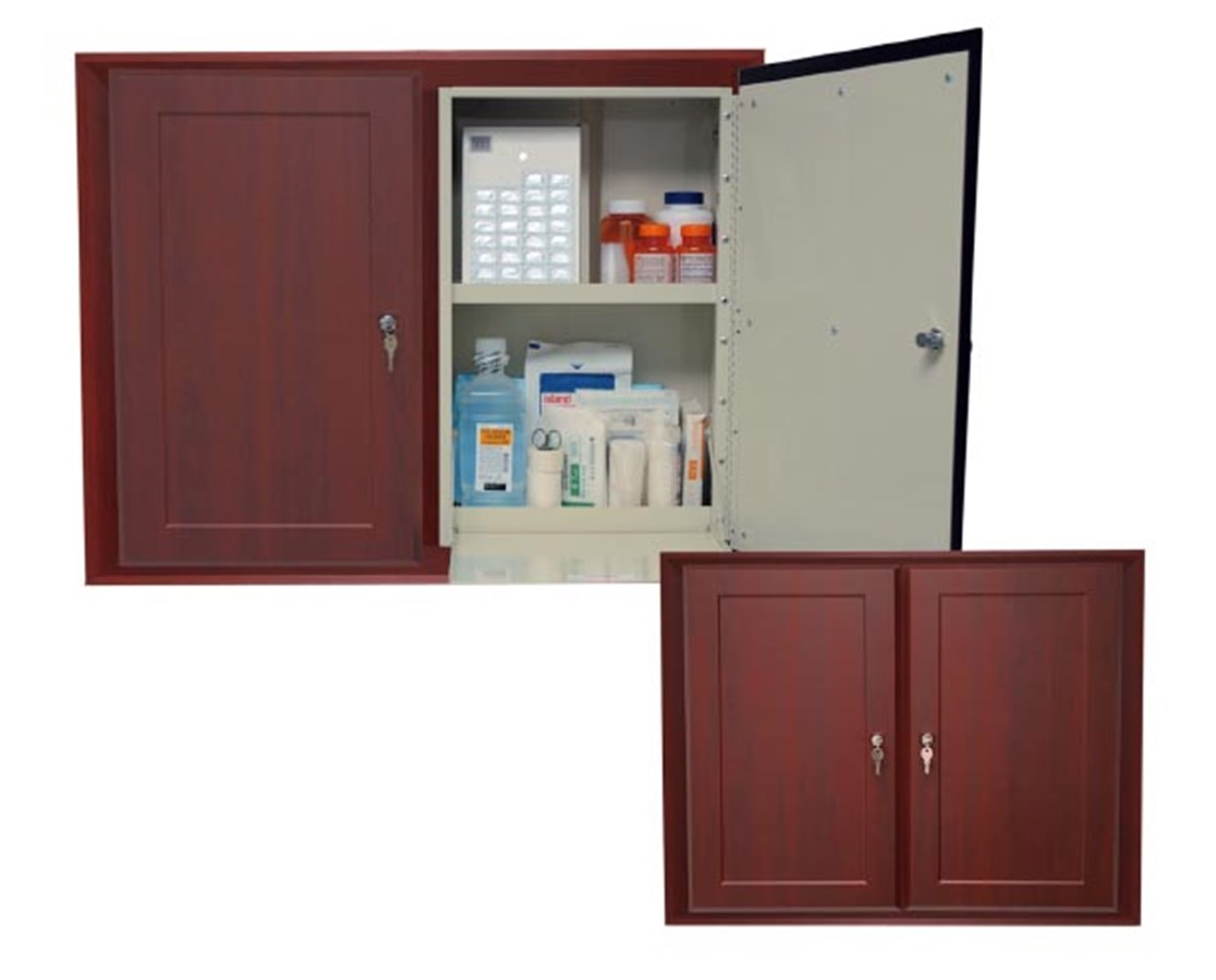 Wood Laminate Double In Wall Medication Cabinet HARWL2780DBREC-
