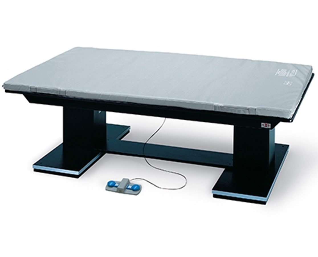 Dual Lift Powermatic® Mat Therapy Table with Black Laminate Top HAU1449-46-