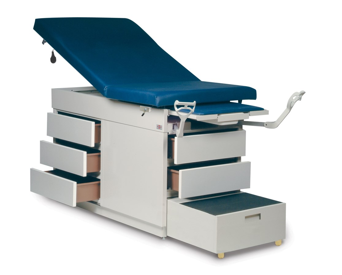 Gas Spring Back Exam Table HAU4412