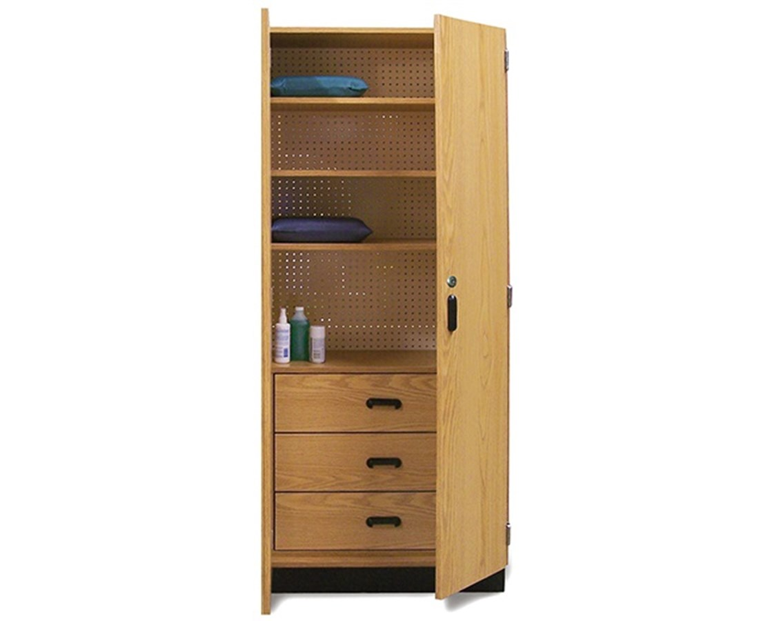 Thera-Wall™ Therapy Storage System Cabinet with Storage Drawers HAU8253