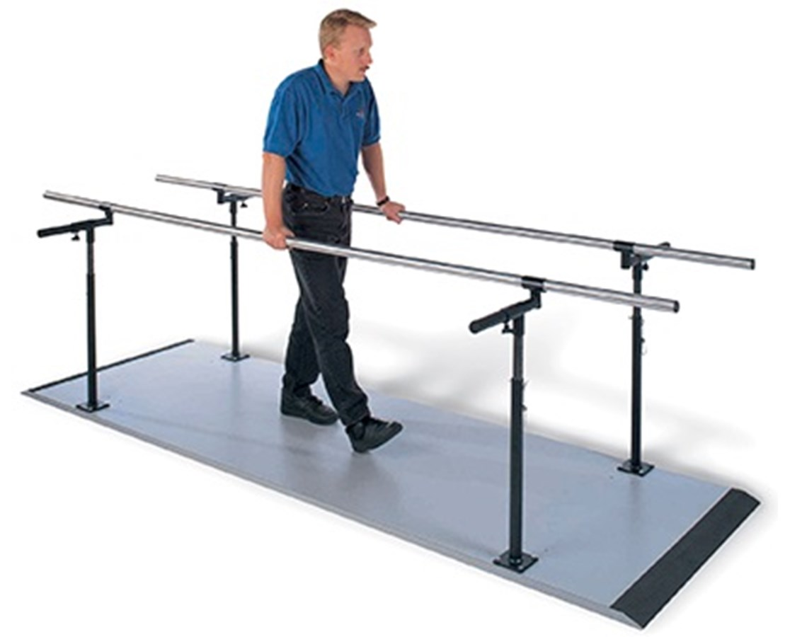 Econo Platform Mounted Parallel Bars HAUS-321-
