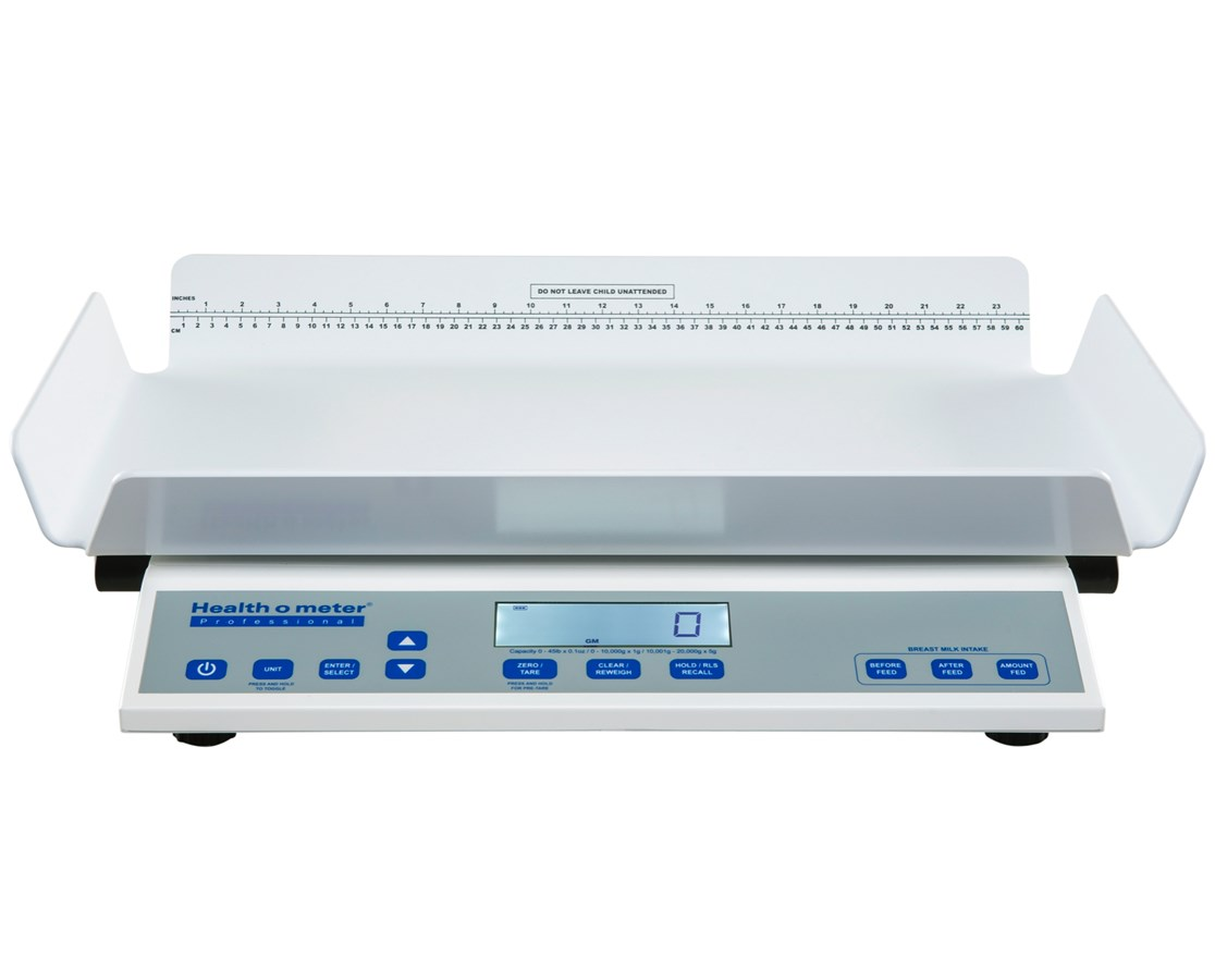 High-Resolution Digital Neonatal/Pediatric Four Sided Tray Scale HEA2210KL4-