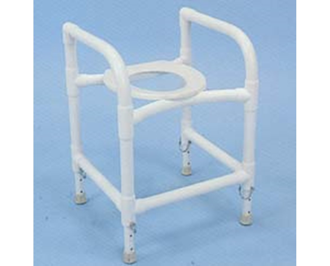 Healthline PVC Commode Safety Frame - FREE Shipping Tiger Medical, Inc