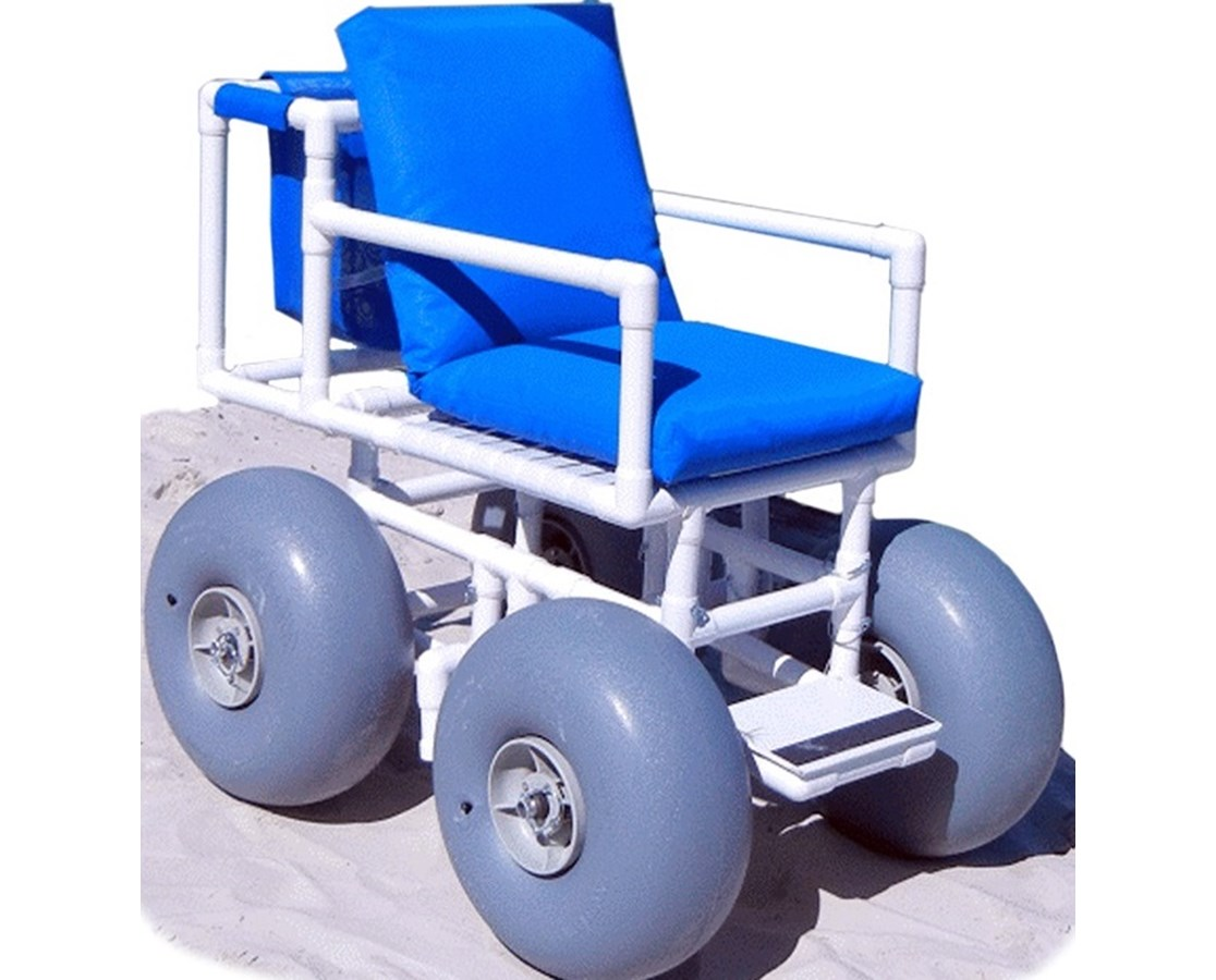 Healthline ROLLEEZ-4 WHEELEEZ-4: PVC Beach Wheelchair