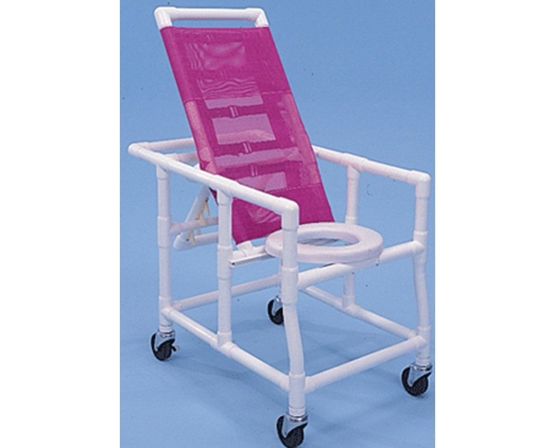 Healthline PVC Reclining Shower Chair - FREE Shipping Tiger Medical, Inc