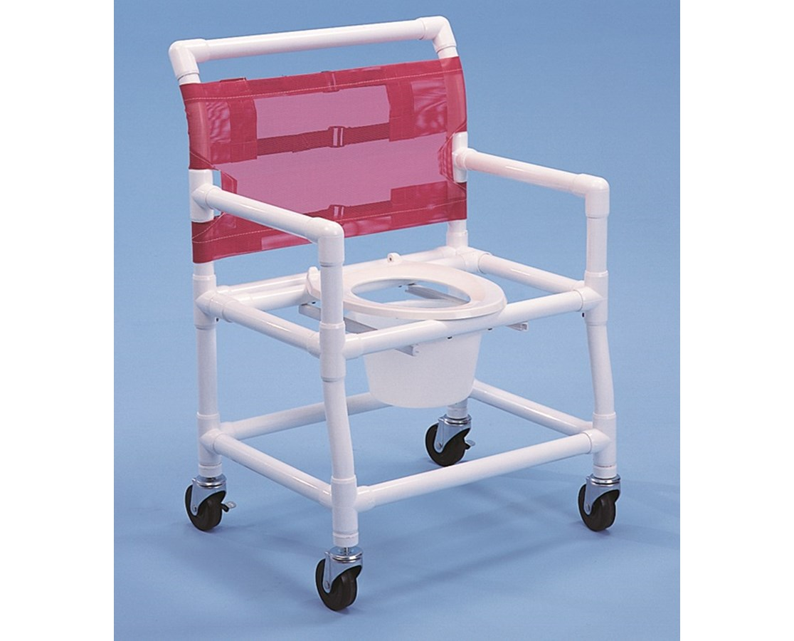 PVC Commode Shower Chair - FREE Shipping Tiger Medical, Inc