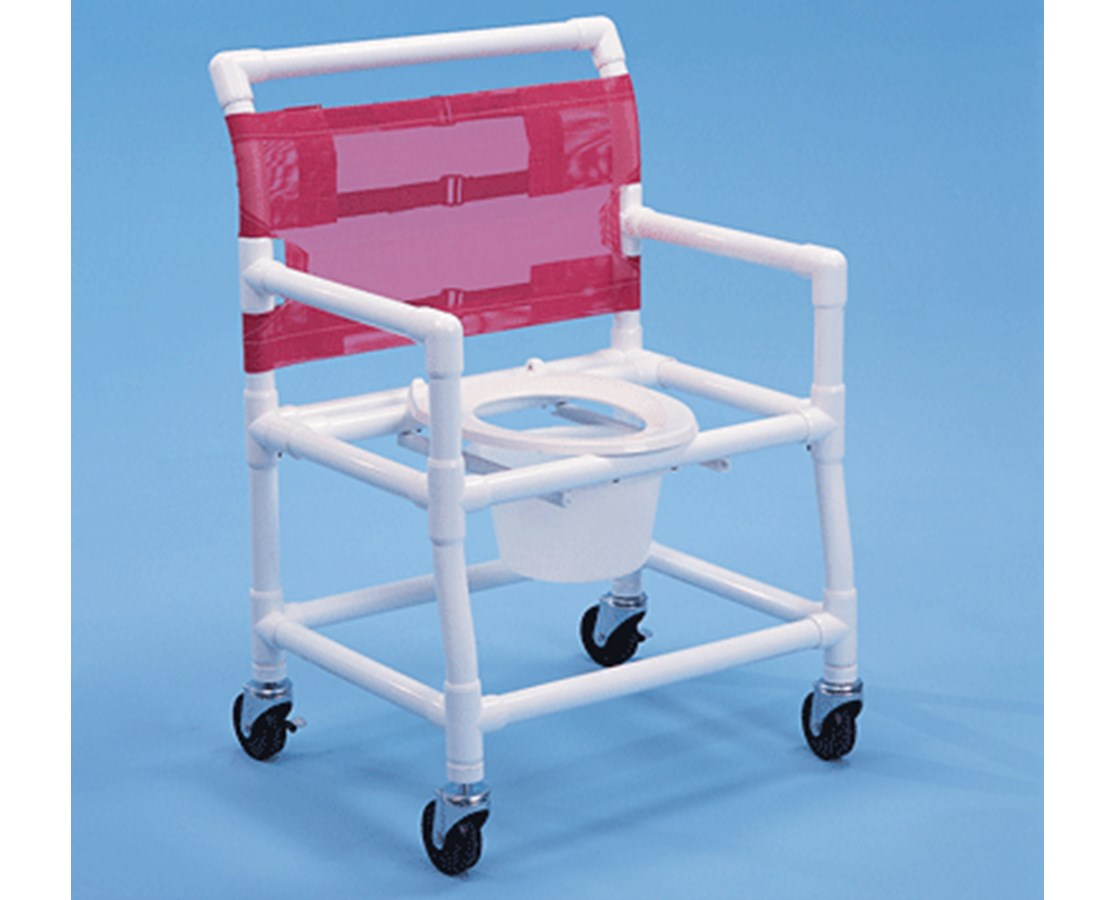 Healthline PVC Shower Chair, Elongated Seat - FREE Shipping Tiger ...