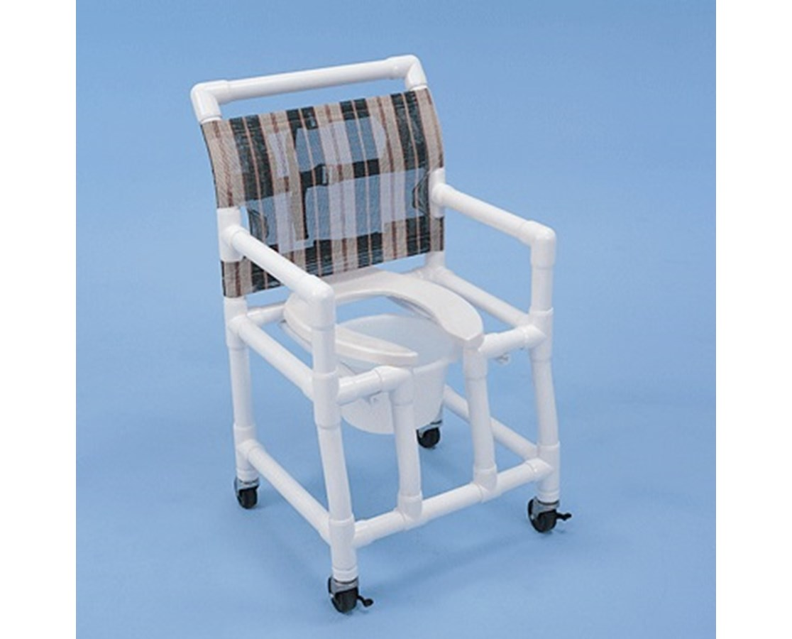 Healthline PVC Shower Chair Open Front Seat - FREE Shipping Tiger ...