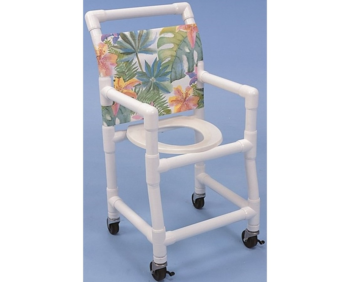 Healthline Sc6153s Ped Pediatric Pvc Shower Chair Commode 15 Wide