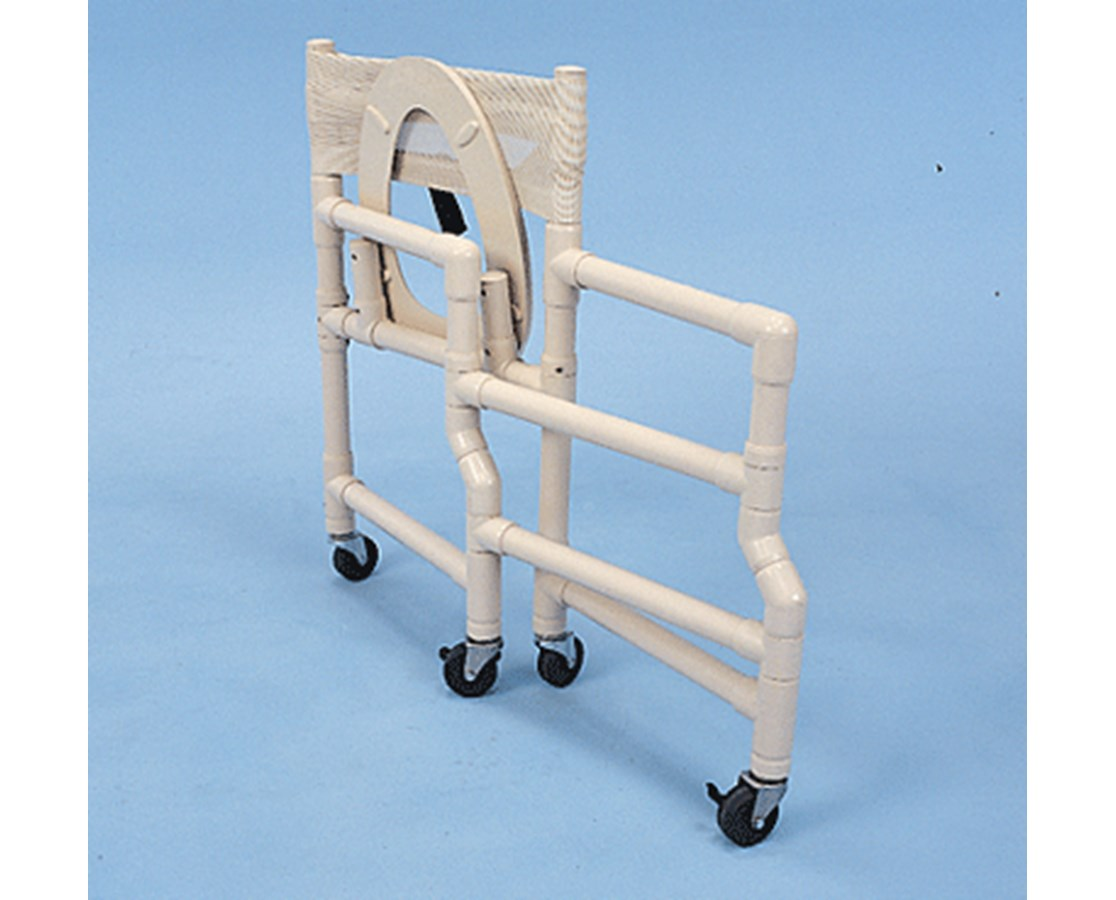 Healthline Folding PVC Deluxe Shower Chair - FREE Shipping Tiger ...
