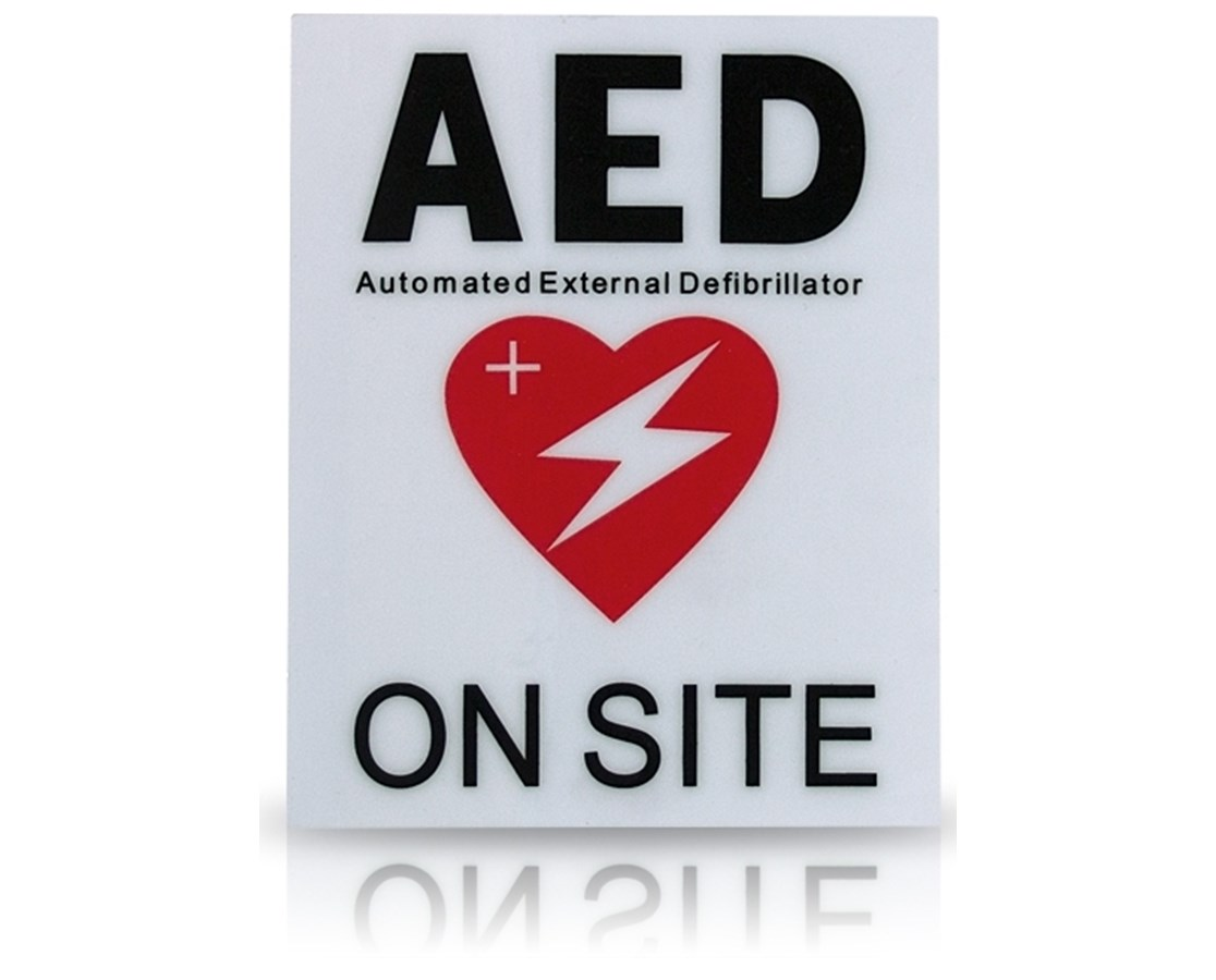AED Facility Sticker HSMHST-ACC02