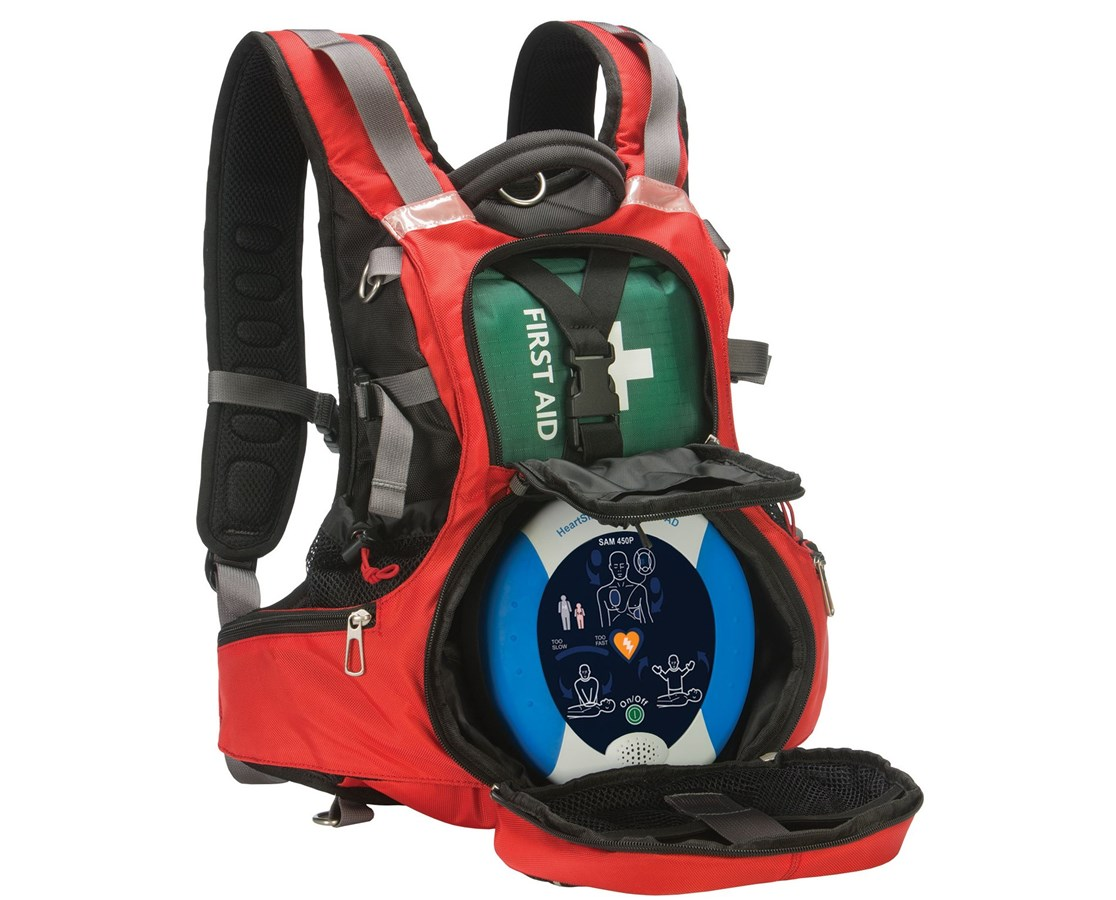 Mobile AED Rescue Backpack HTS11516-000114