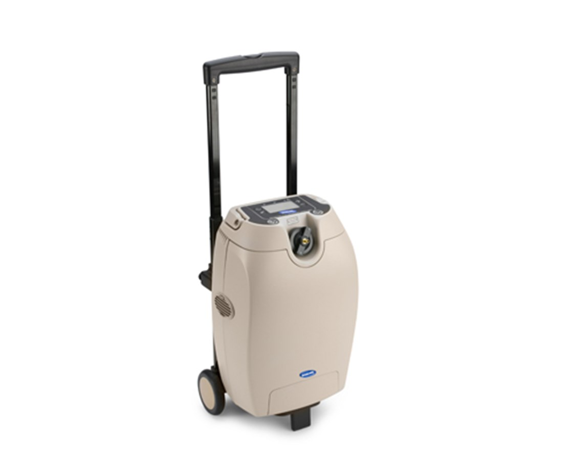 Wheeled Cart for Invacare SOLO2 Oxygen Concentrator INVTPO120