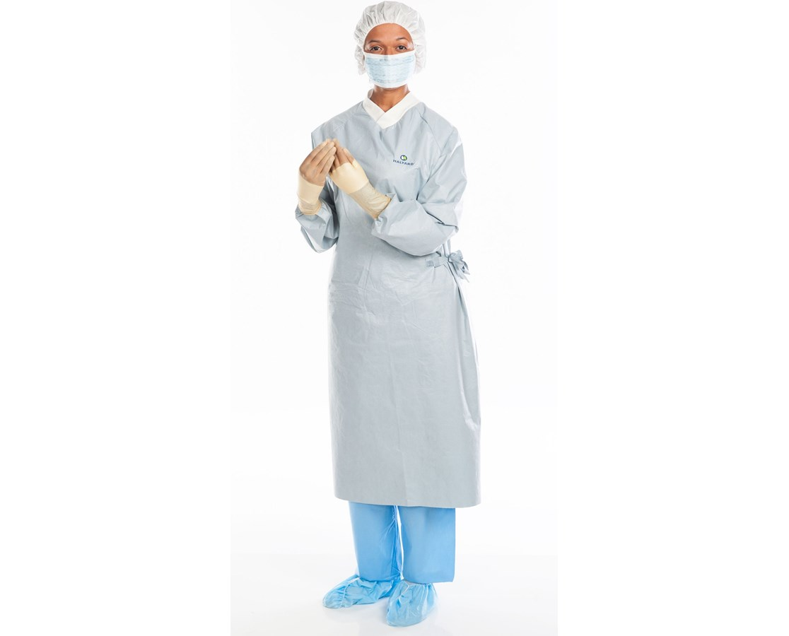 Halyard AERO CHROME Breathable Performance Surgical Gown KIM44673