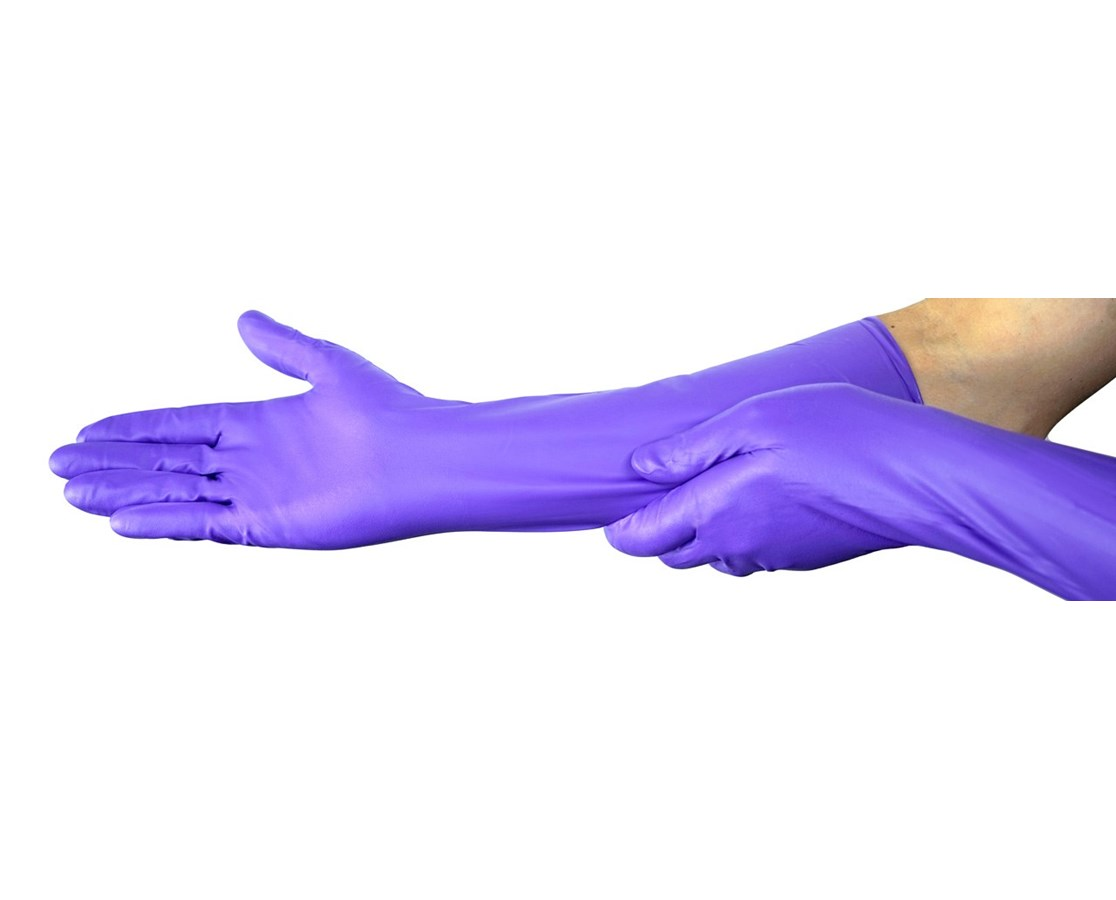 Halyard Purple Nitrile* Max Powder-Free Exam Gloves KIM44992