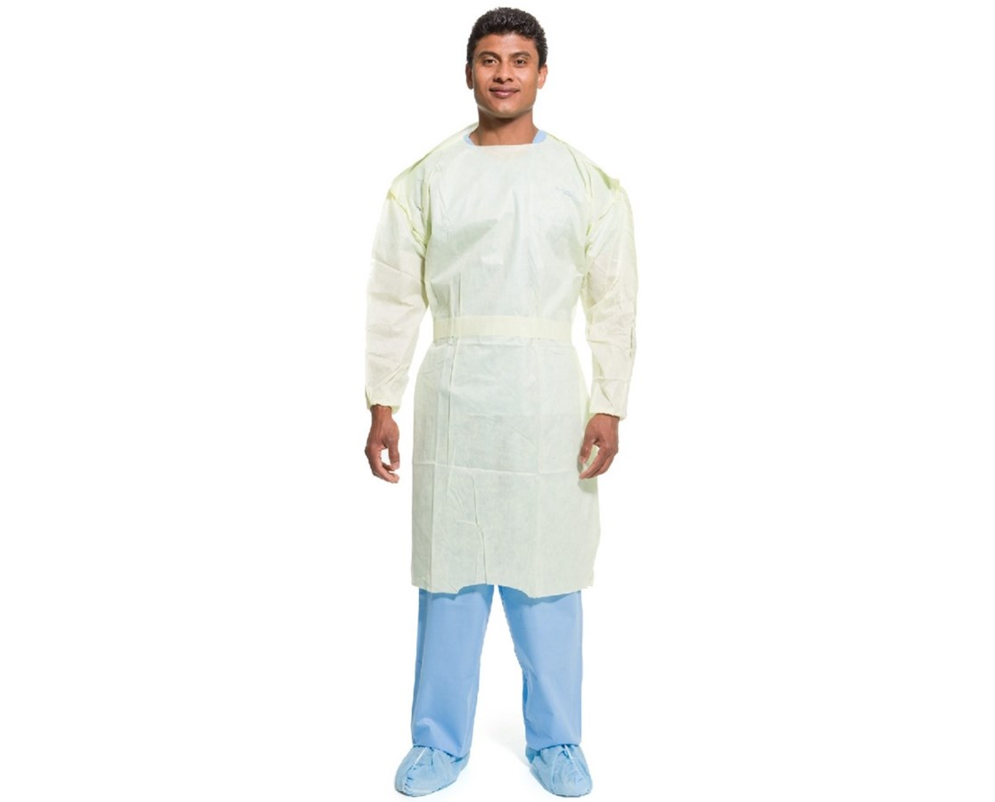 Halyard KC200 Isolation Gown, Yellow - Save at Tiger Medical, Inc
