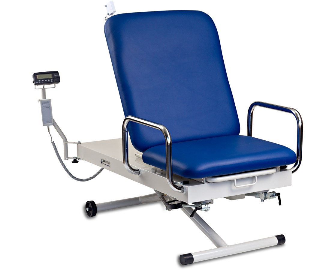 UpScale™ Adjustable Height Exam Table w/ Built-in Scale MACXM450