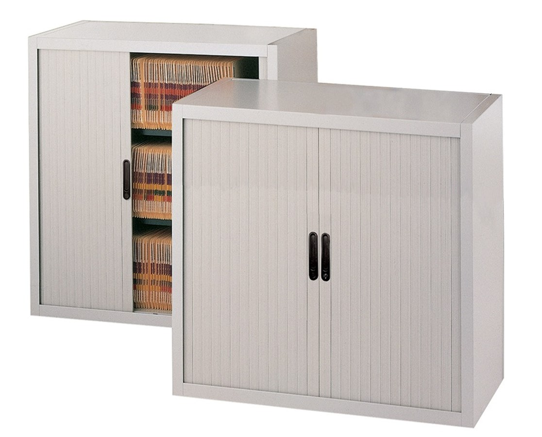 File Harbor Unit with Horizontal Tambour Door - 3 Tier MAY3836A3-