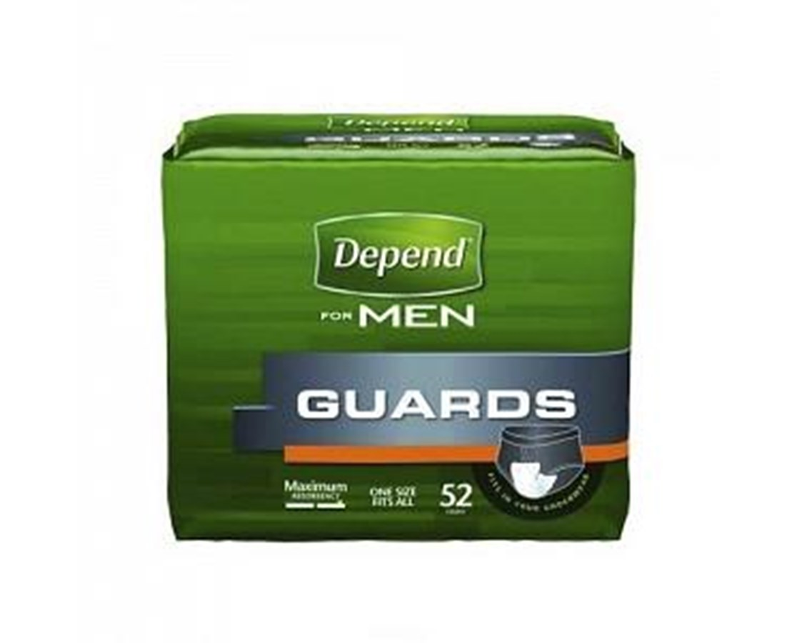 Depends Men's Incontinence Pad MEDK-C13792