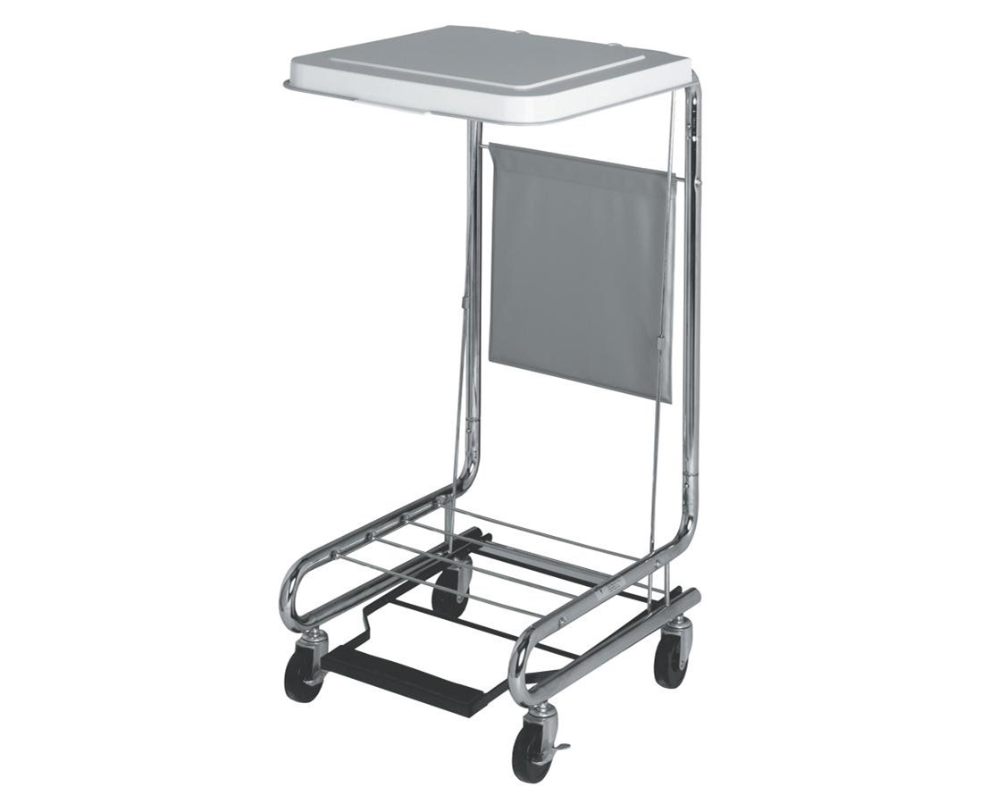 "18"" Hamper Stand with Foot Pedal MEDMDS80529"