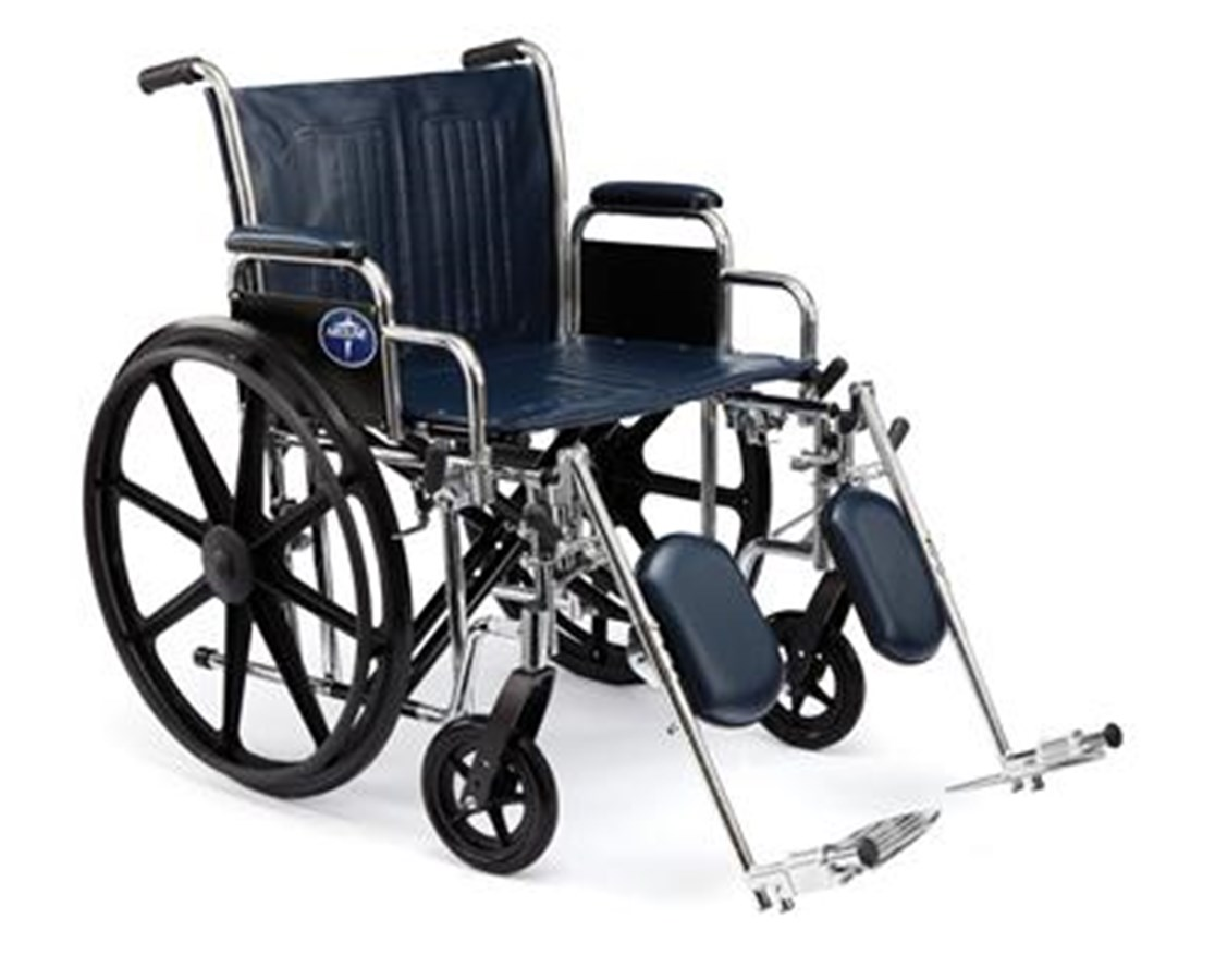 Excel Extra-Wide Heavy Duty Wheelchair MEDMDS806800