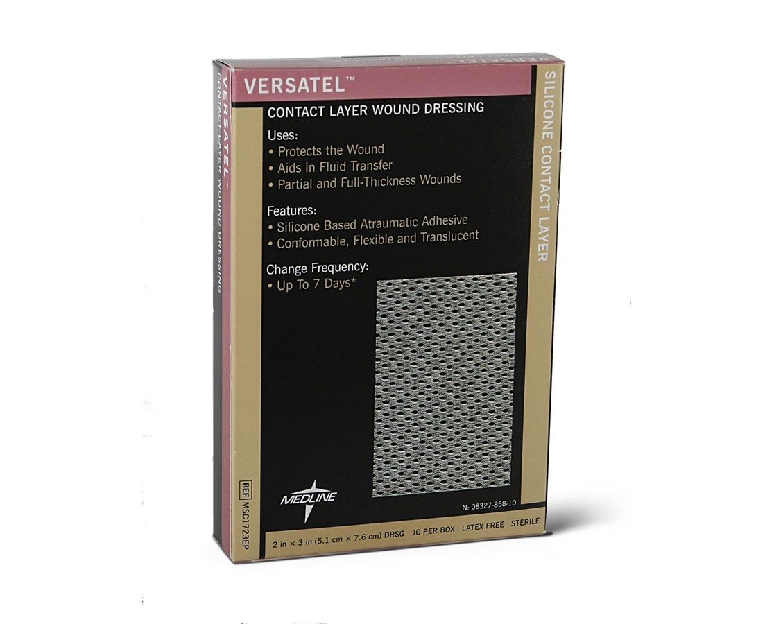 Versatel Contact Layer Dressings MEDMSC1723EP-