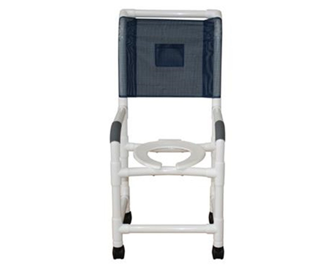 MJM118-3-H High Backed Commode Shower Chair