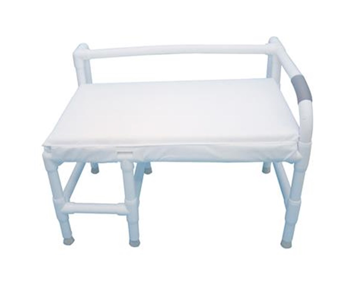 MJM165-36-700 Bariatric Transfer Bench with Cushion Seat