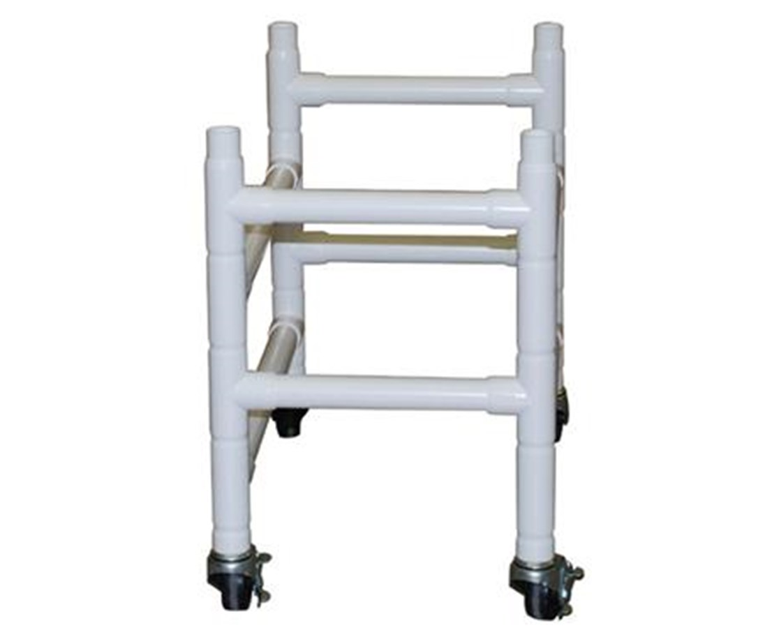 "Optional Dual Base Extension with 3"" Casters for 191 Series MJM191-BB"