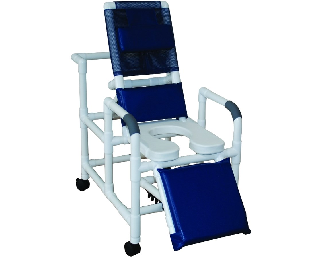 MJM Reclining Shower Commode with Elevated - Save at Tiger Medical, Inc