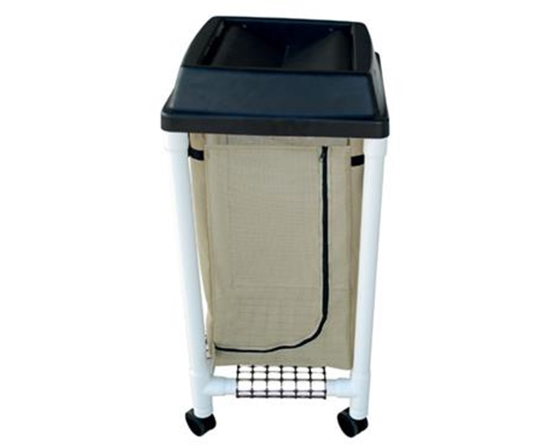 MJM 214-S-UL Universal Lid  Hamper with Mesh Bag