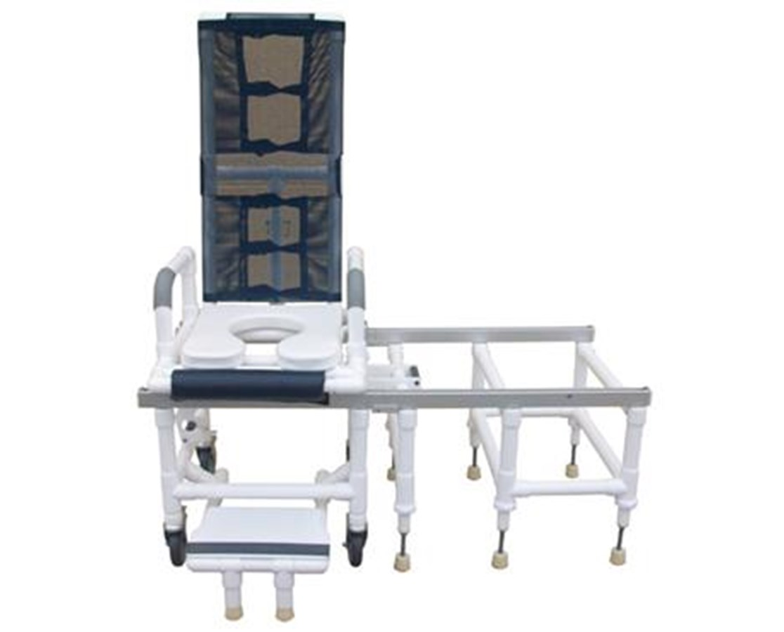 MJM Deluxe Tilt-N-Space Dual Shower Commode - Save at Tiger Medical, Inc