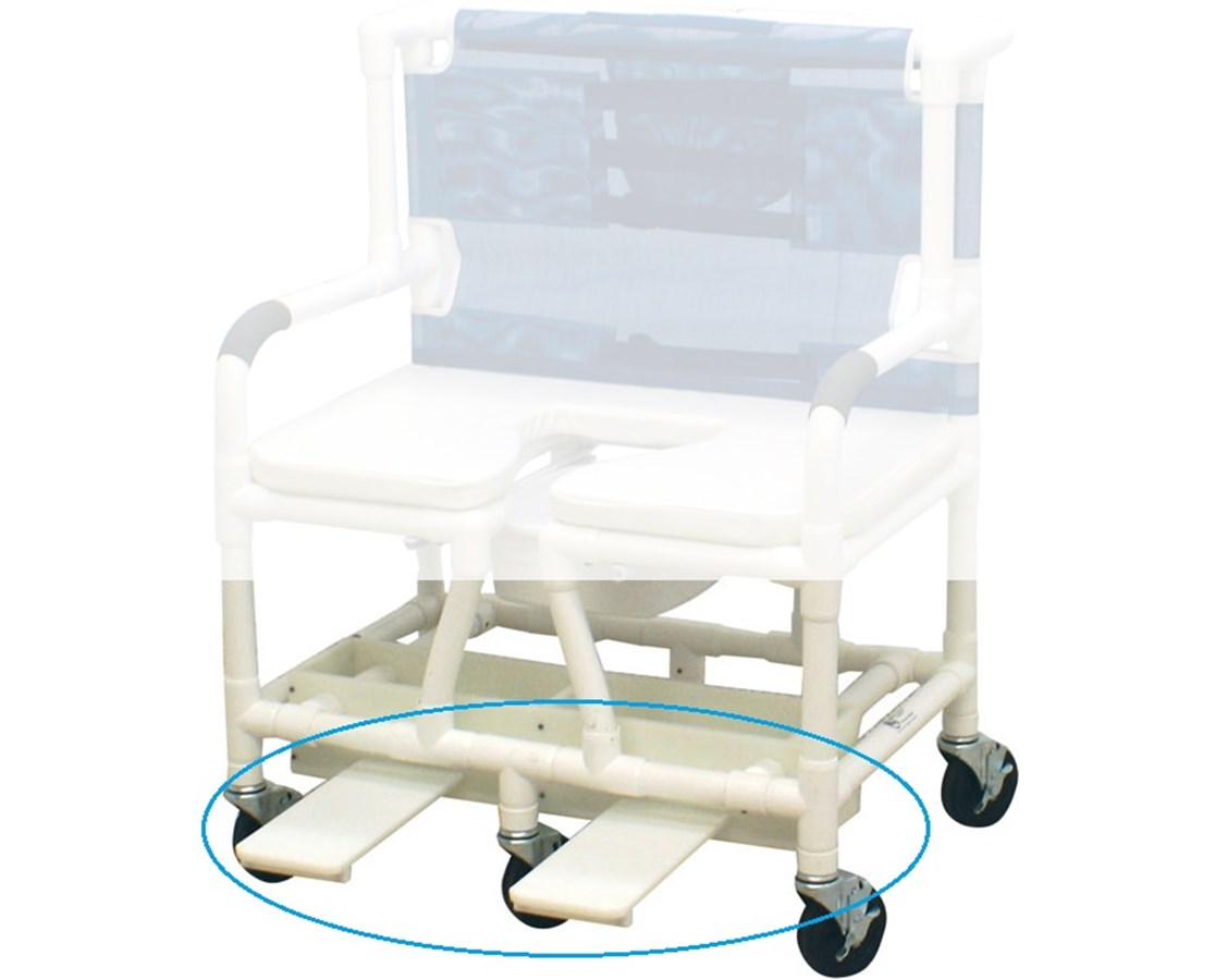 Optional Sliding Footrest for 126-5-BAR MJMSF-26-BAR