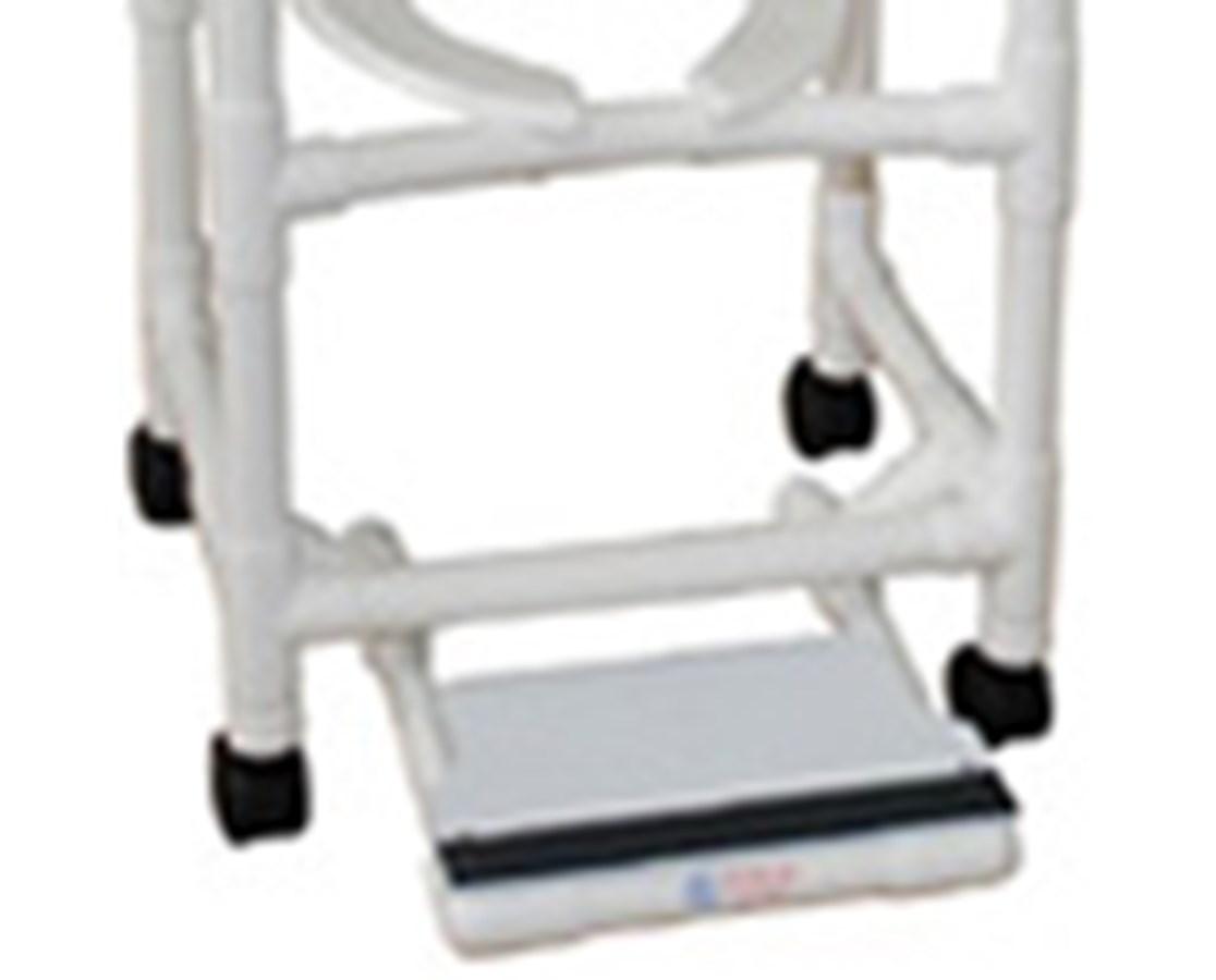 MJM Sliding Footrest for MJM Shower Chairs - Save at Tiger Medical, Inc