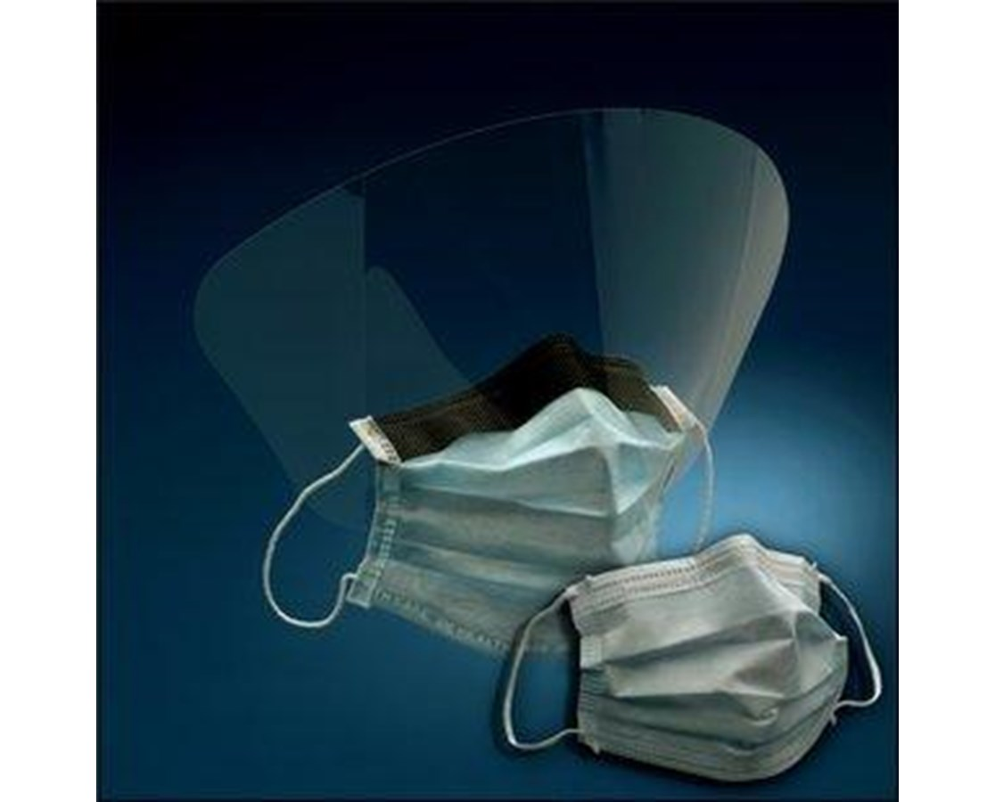 Earloop Procedure Masks with Optional Face Shield MMM1820-