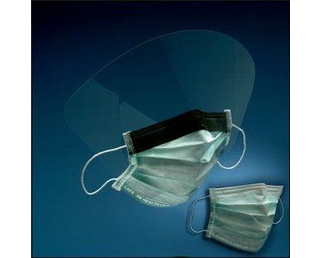 High Fluid Resistant Procedure Mask with Optional Face Shield MMM1840-