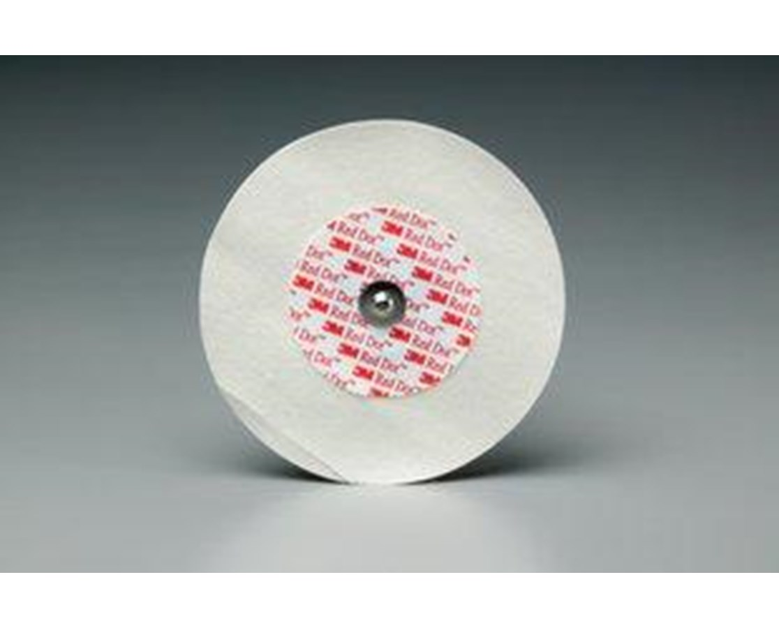 Red Dot™ Wet Gel Foam Monitoring Electrodes with Abraders, Case MMM2256-50