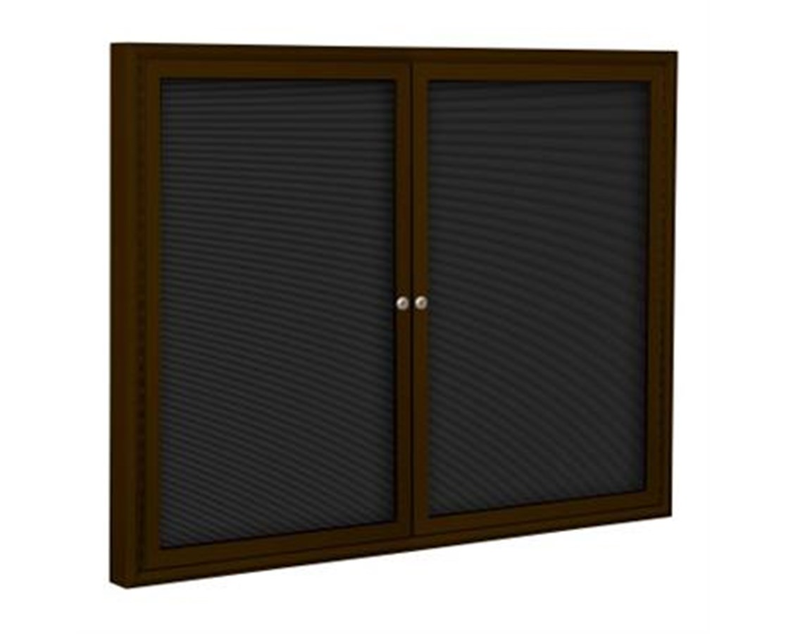 2 Doors Enclosed Indoor Directory Board MOO98PCC-I-