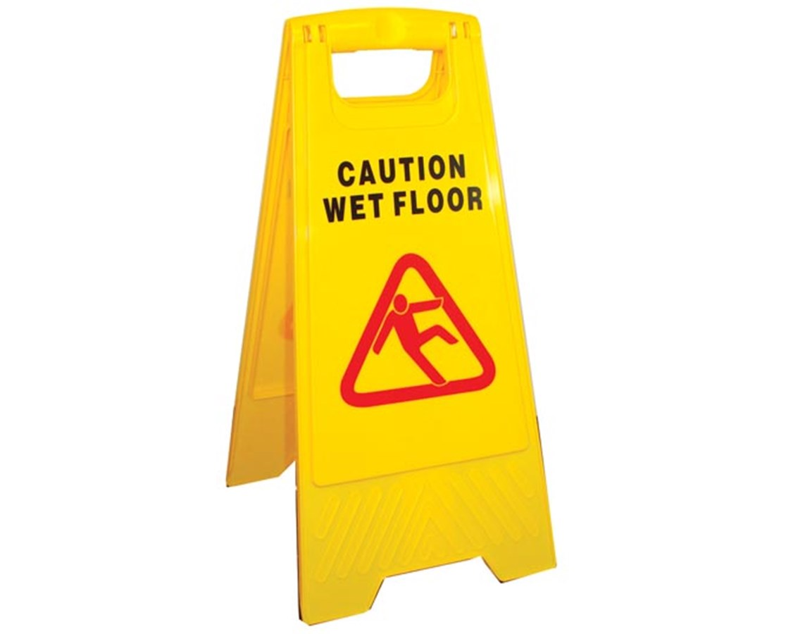 "A-Frame ""CAUTION"" Sign NDCP124070_x10"