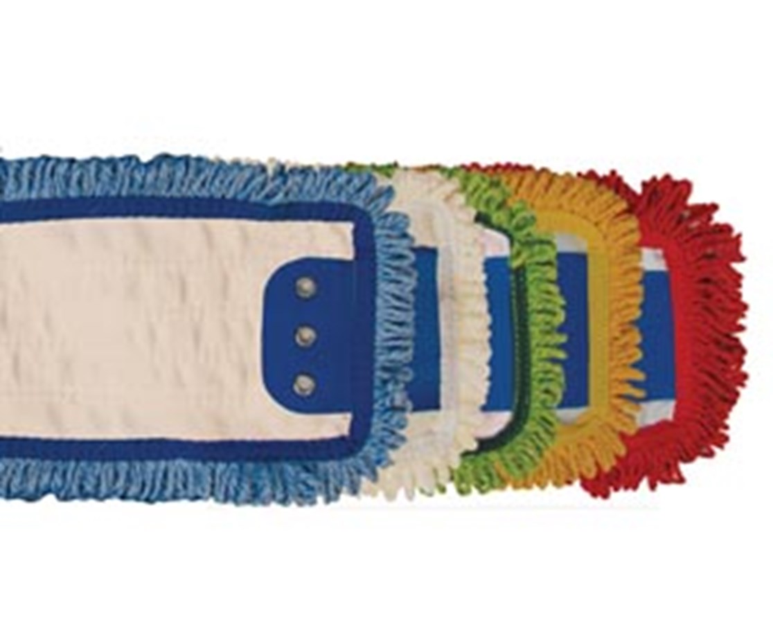Looped End Microfiber Mop Pad - Tab Style NDCP126120_x20-