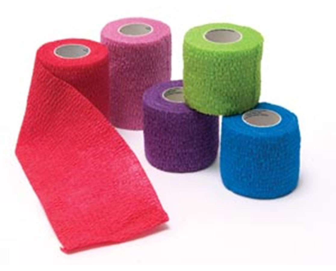 Cohesive Bandage, Assorted Colors NDCP158010