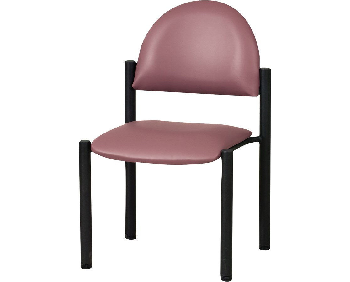 Exam Side Chair with Wall Guard CLIC-40B-