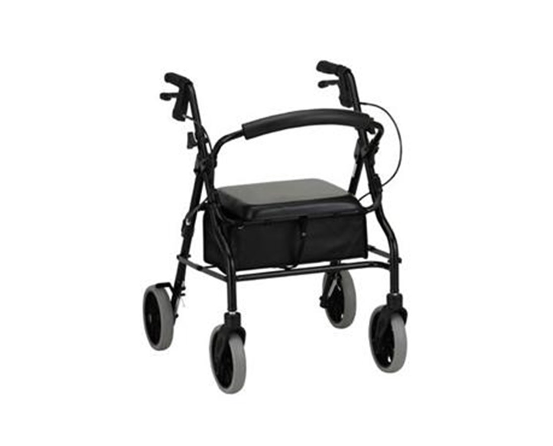 nova zoom rolling walker with 24 seat height save at. Black Bedroom Furniture Sets. Home Design Ideas