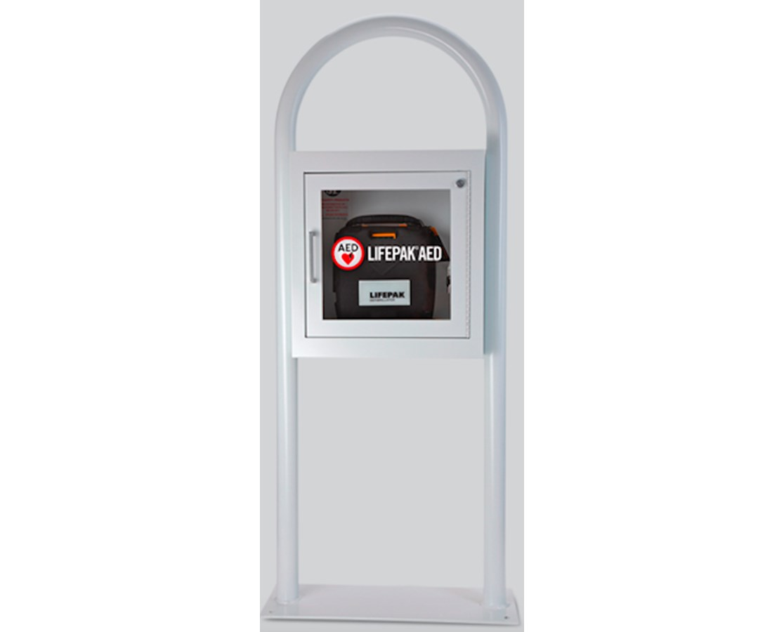 AED Floor Stand Cabinet, With Alarm PHY11210-000029-