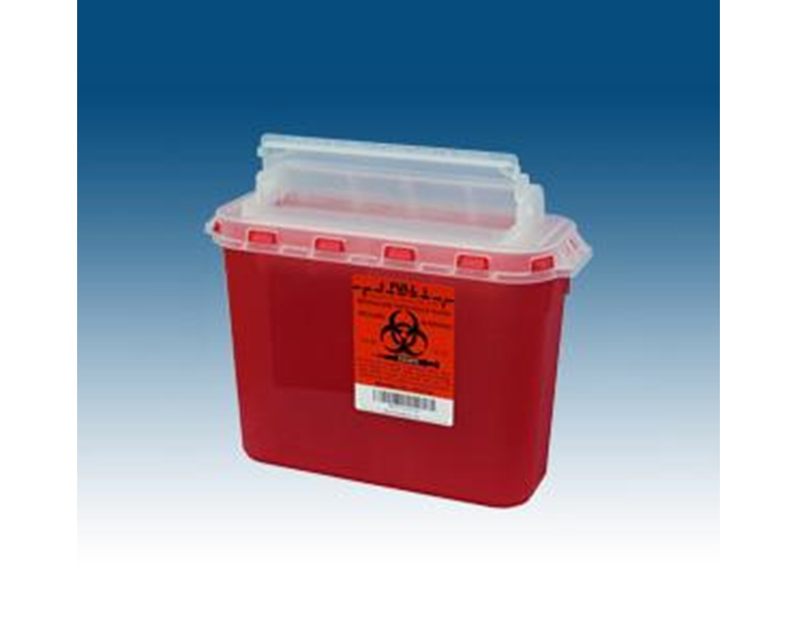 5.4 Qt. BD Compatible Sharps Container PLA143154