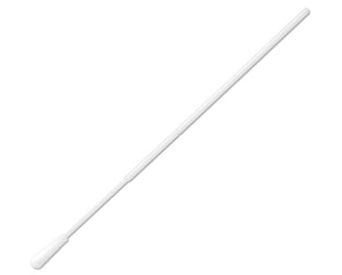 "6"" Non-Sterile Standard Tipped Nylon HydraFlock Swab with Polystyrene Handle & Molded Break Point PUR3306-H"