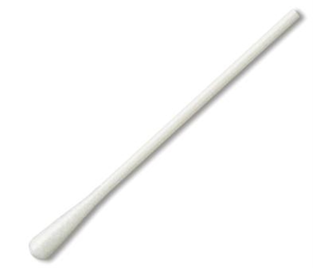 "3"" Non-Sterile Polyester Applicator with Polystyrene Handle PUR803-PD"